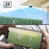 Foscam D4Z, 4MP Dual Band WiFi PTZ camera