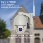 CamHi IP beveiligings camera en buitenlamp PT 0054 32GB