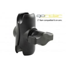 """GoRider 6cm 1""""arm"""