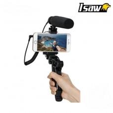 ISAW Vomi Selfie vlog Microfoon Set