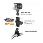 RAM Mount sportcamera buismontage compleet