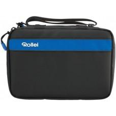 Rollei Camera tas blauw