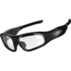 RiderE9 WiFi camera bril matte black kleurloze glazen