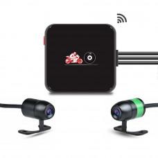 MotoCam E6L Dual camera Motor dashcam