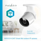 Nedis WIFICO11CWT Smart life @ home outdoor IP camera