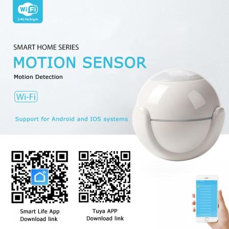Smart Life @ home PIR sensor bewegingsdetector, een