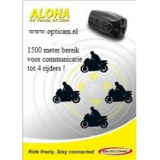 Bikecomm DUO Aloha Bluetooth headset 1500m