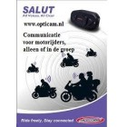 Bikecomm Salut Bluetooth headset 100m