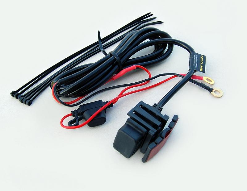 Spiksplinternieuw Waterdichte USB oplader, voor voeding op de motor VJ-52