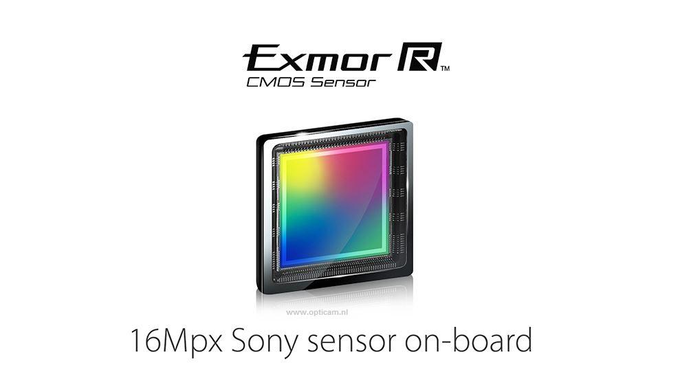 Edge heeft een Sony Exmore sensor